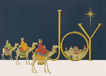Following The Star Christmas Cards